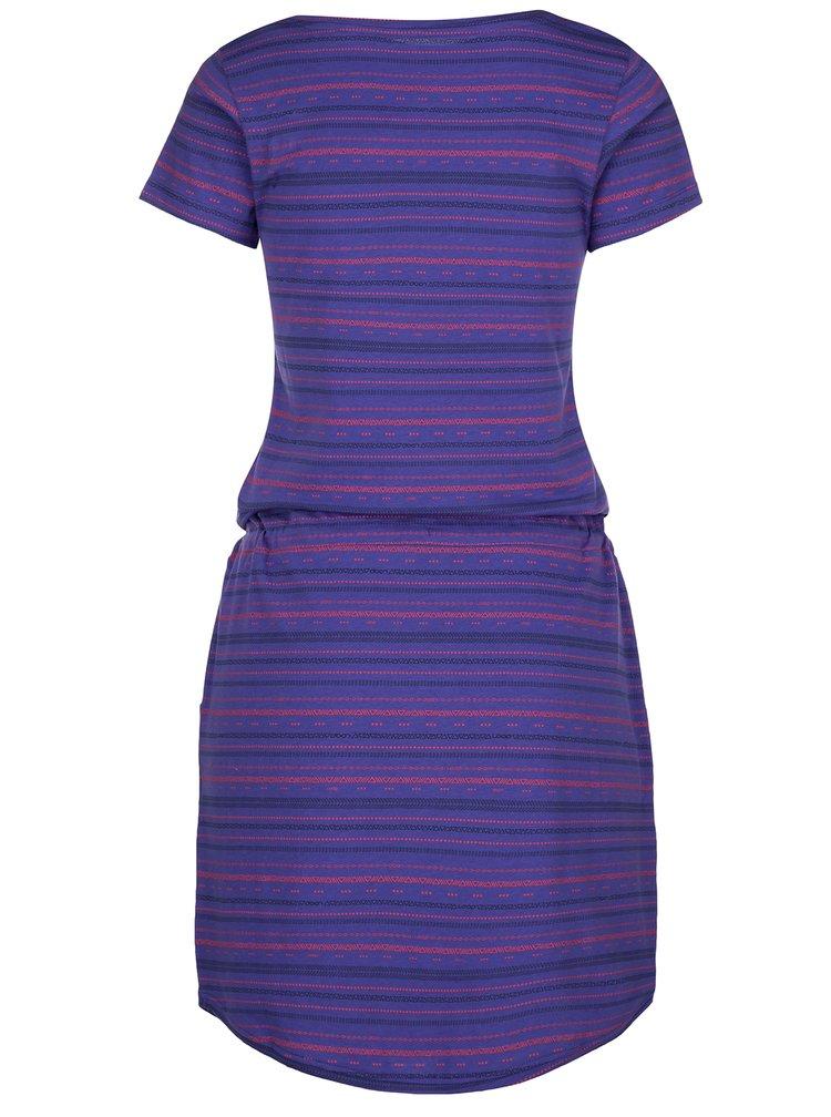 Fialové vzorované šaty LOAP Alecia