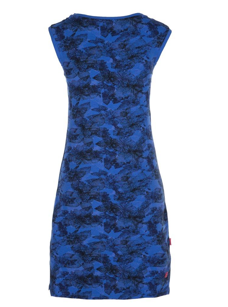 Černo-modré květované šaty LOAP Brea