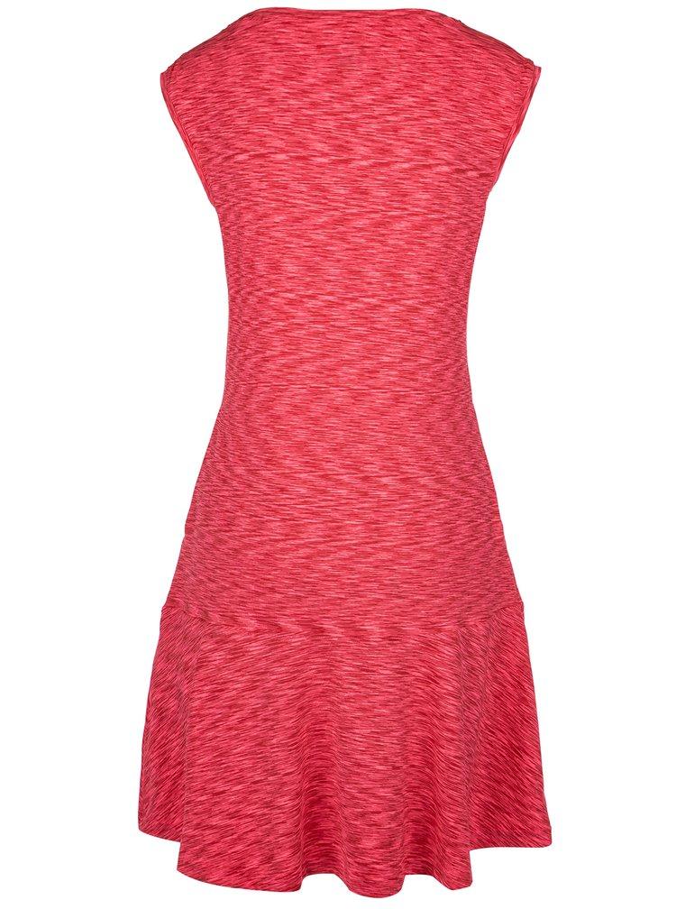 Růžové žíhané šaty LOAP Mercy
