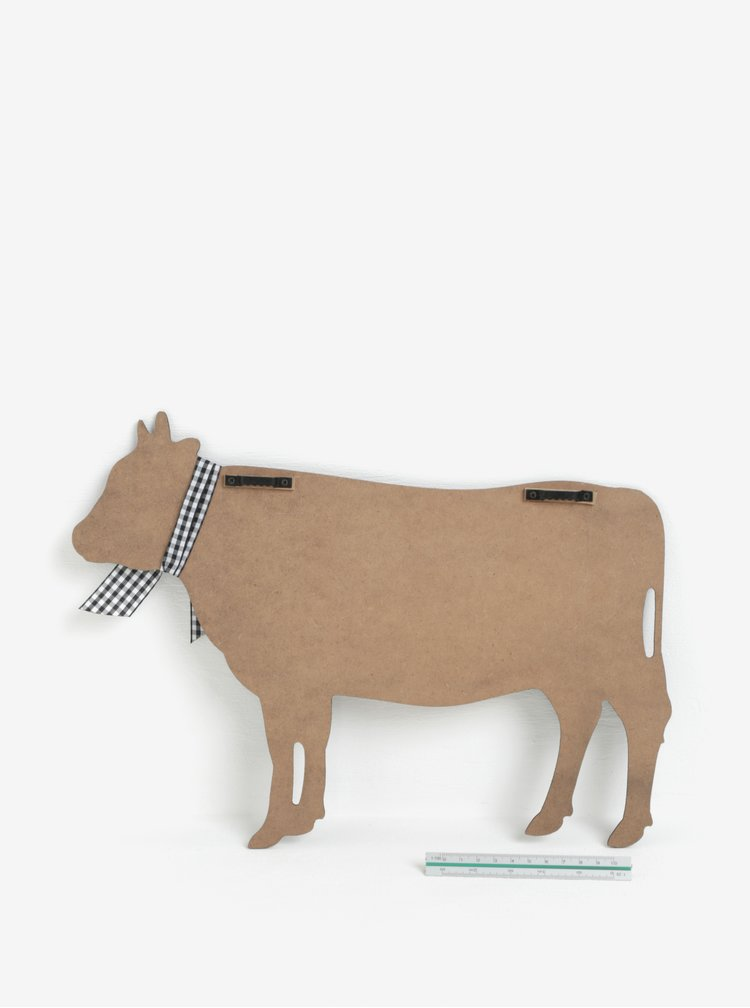 Čierna tabuľa v tvare kravy SIFCON
