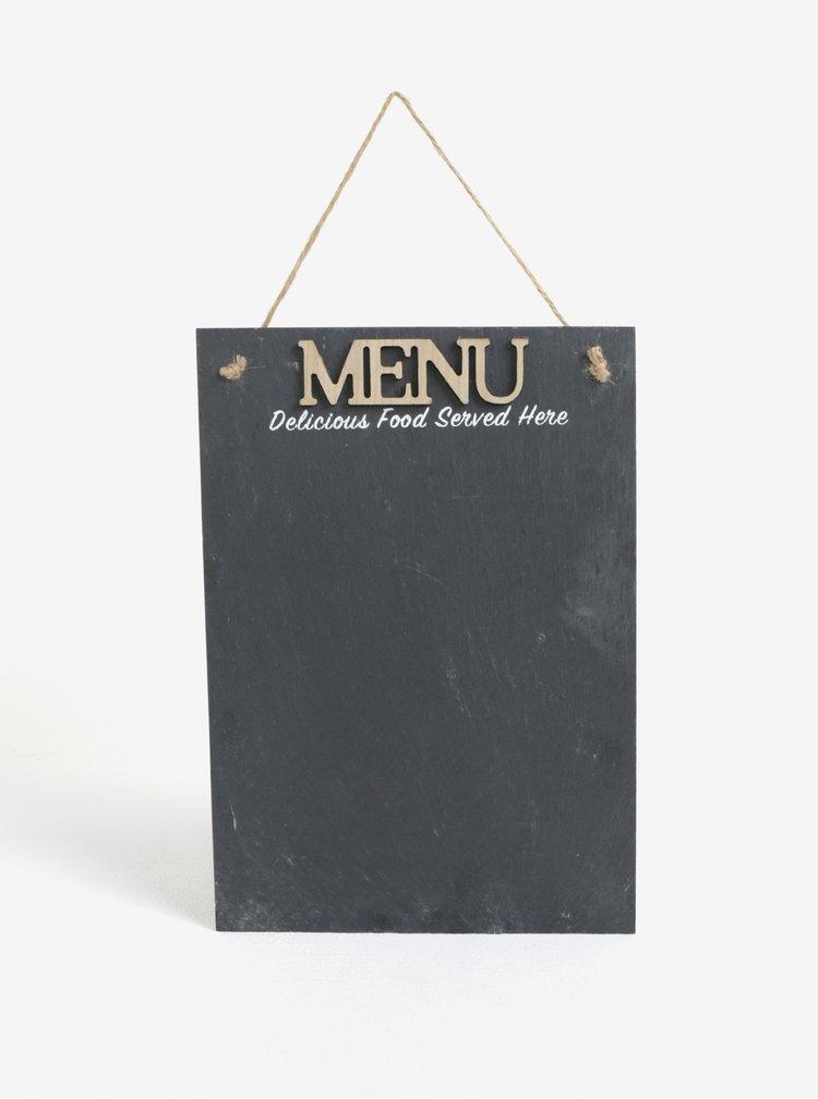Závesná tabuľa na menu SIFCON