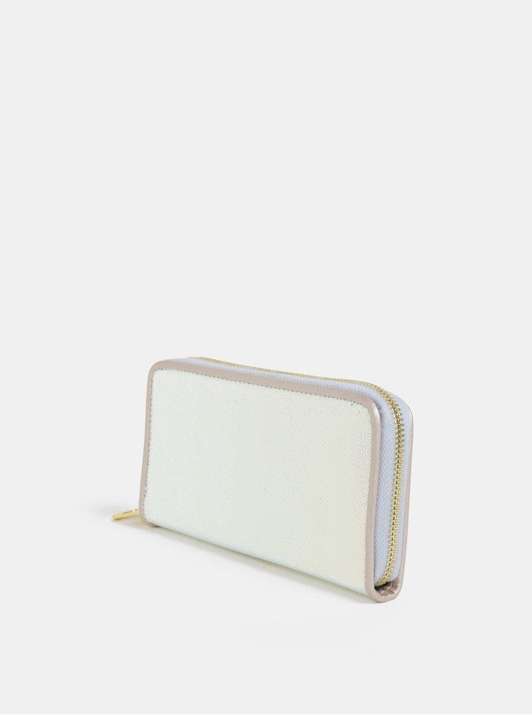 Metalická peněženka ve stříbrné barvě Anna Smith