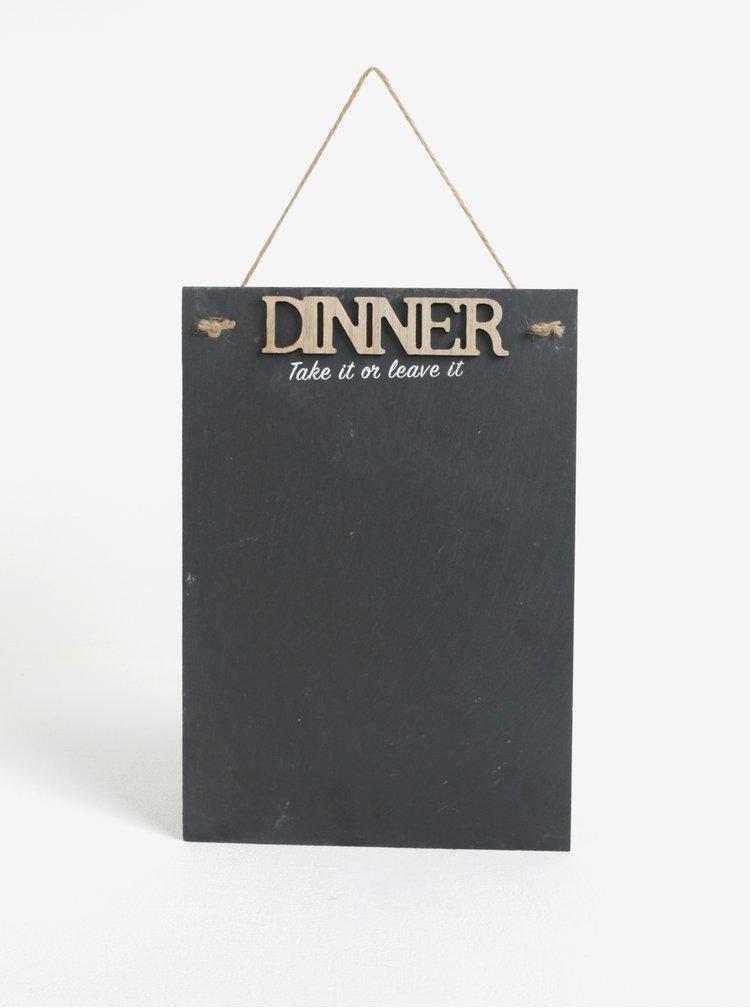 Závěsná tabule na večeři SIFCON