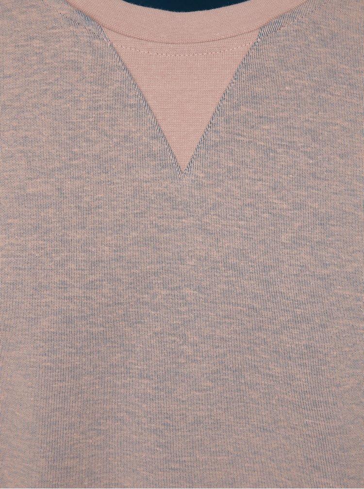 Světle růžová mikina Jack & Jones Face