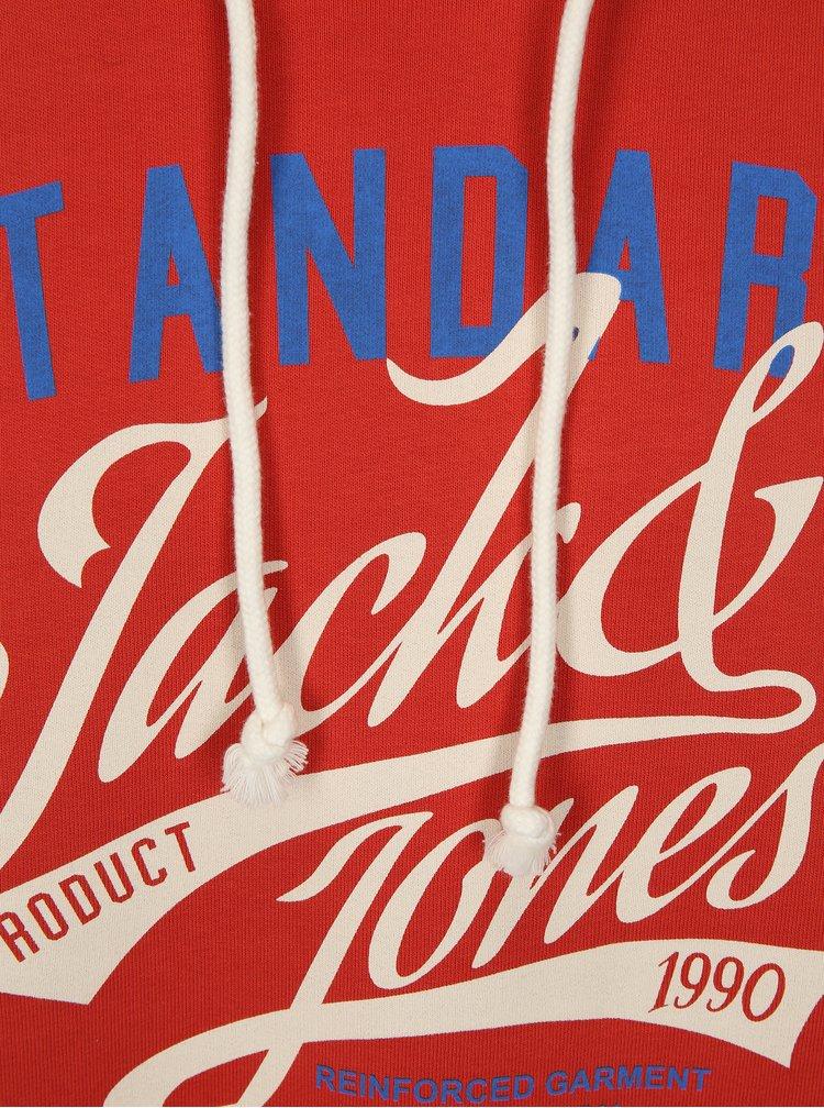 Hanorac caramiziu Jack & Jones Art
