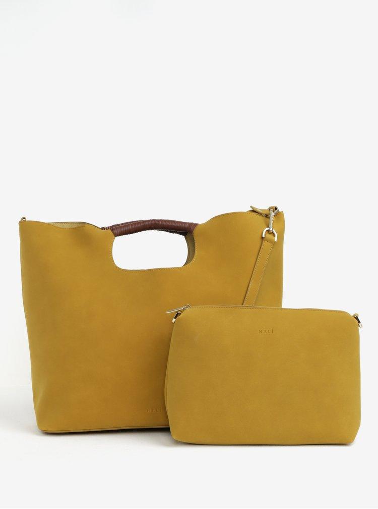 Žlutý shopper 2v1 Nalí