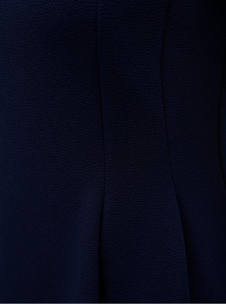 Tmavě modré šaty s krátkým rukávem Dorothy Perkins