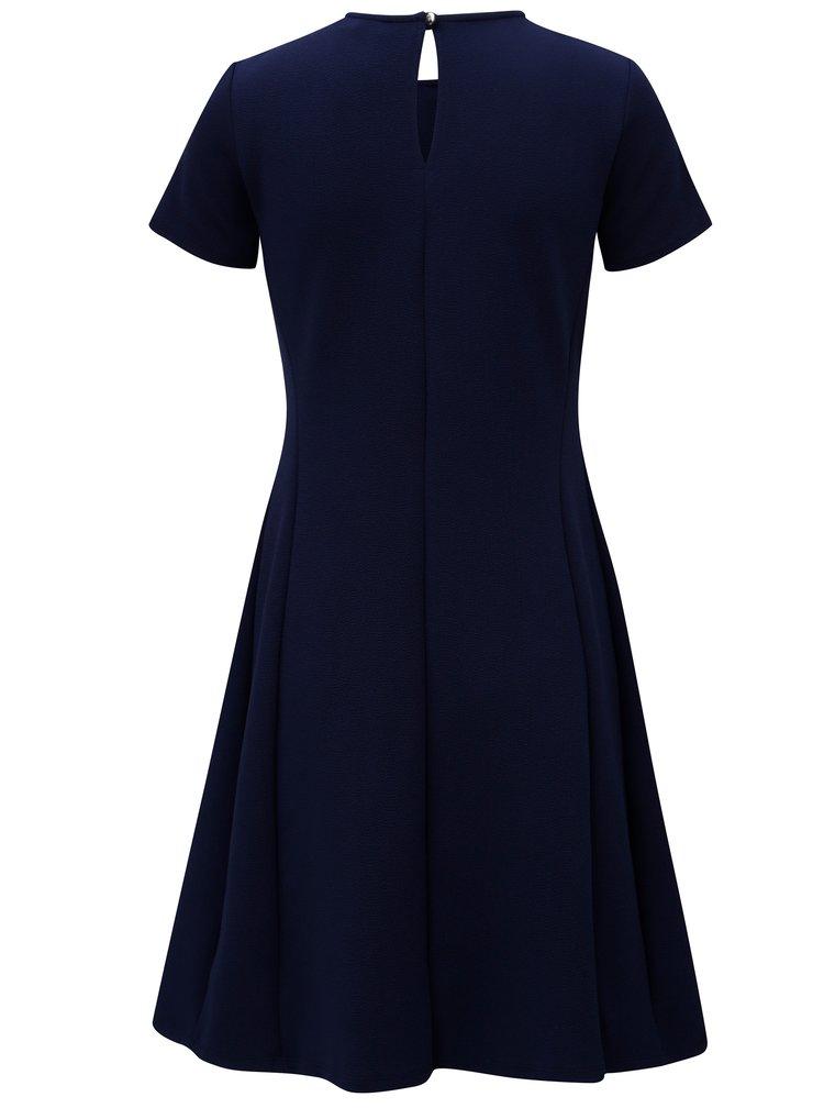 Rochie albastru inchis cu maneci scurte Dorothy Perkins