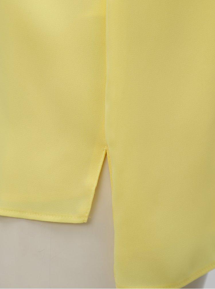 Žluté basic tílko Dorothy Perkins