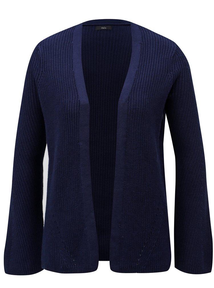 Cardigan de dama albastru inchis cu striatii M&Co