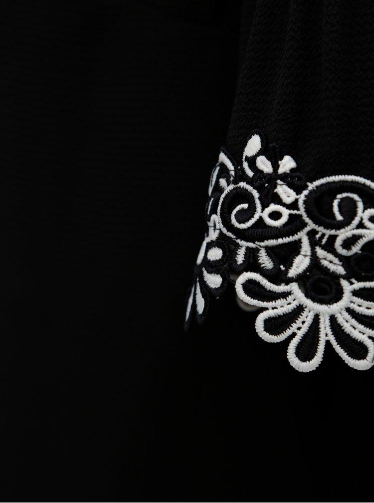 Bluza neagra cu umerii taiati Dorothy Perkins