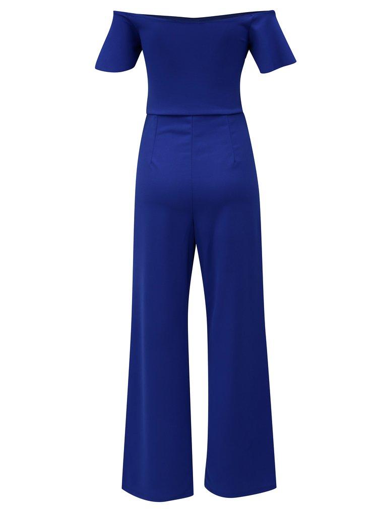 Modrý overal s odhalenými rameny Dorothy Perkins