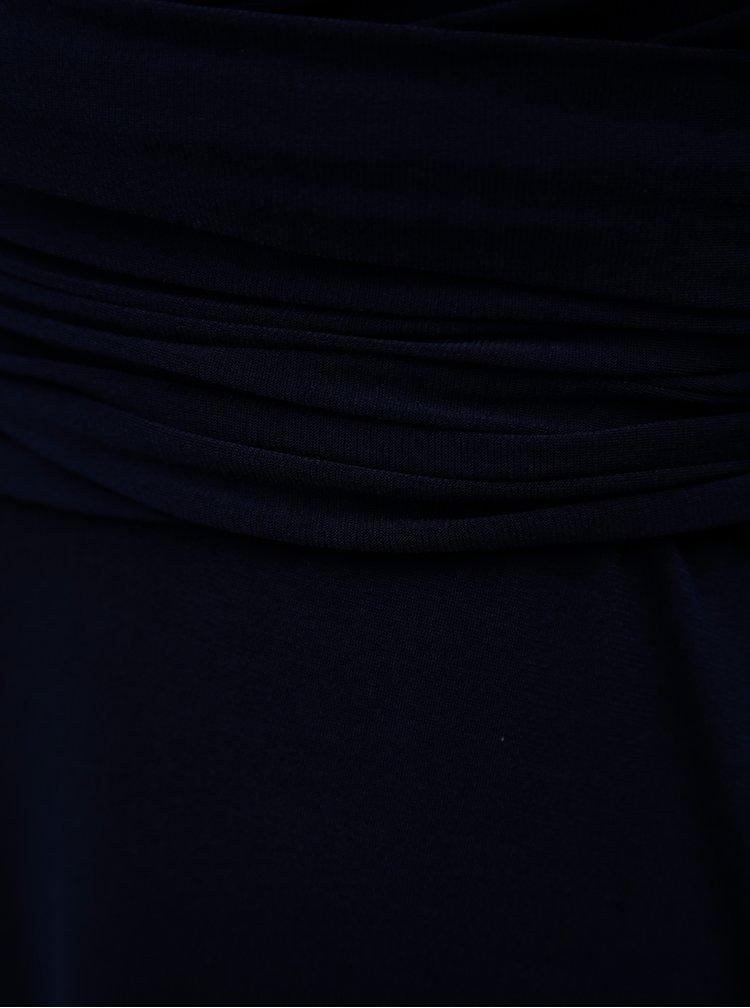 Salopeta albastru inchis cu umerii goi Dorothy Perkins