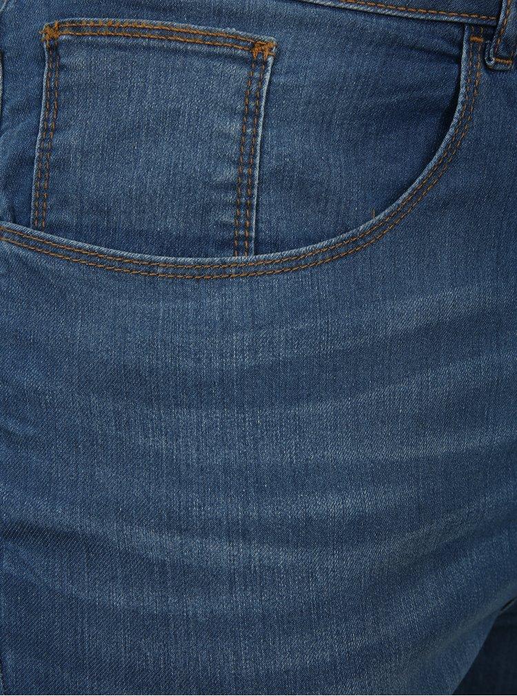 Modré skinny džíny Dorothy Perkins Curve