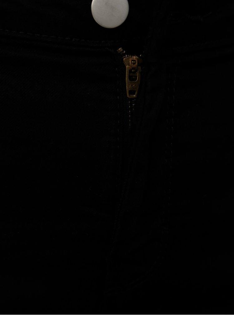 Černé straight džíny Dorothy Perkins Tall