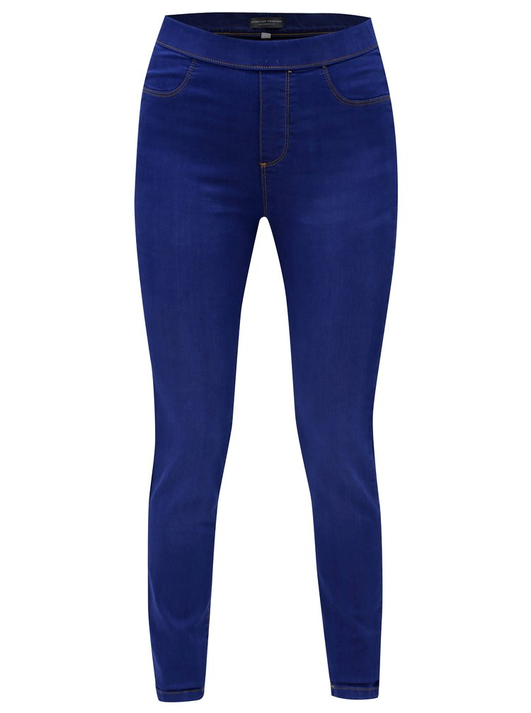 Modré skinny jeggings Dorothy Perkins Tall