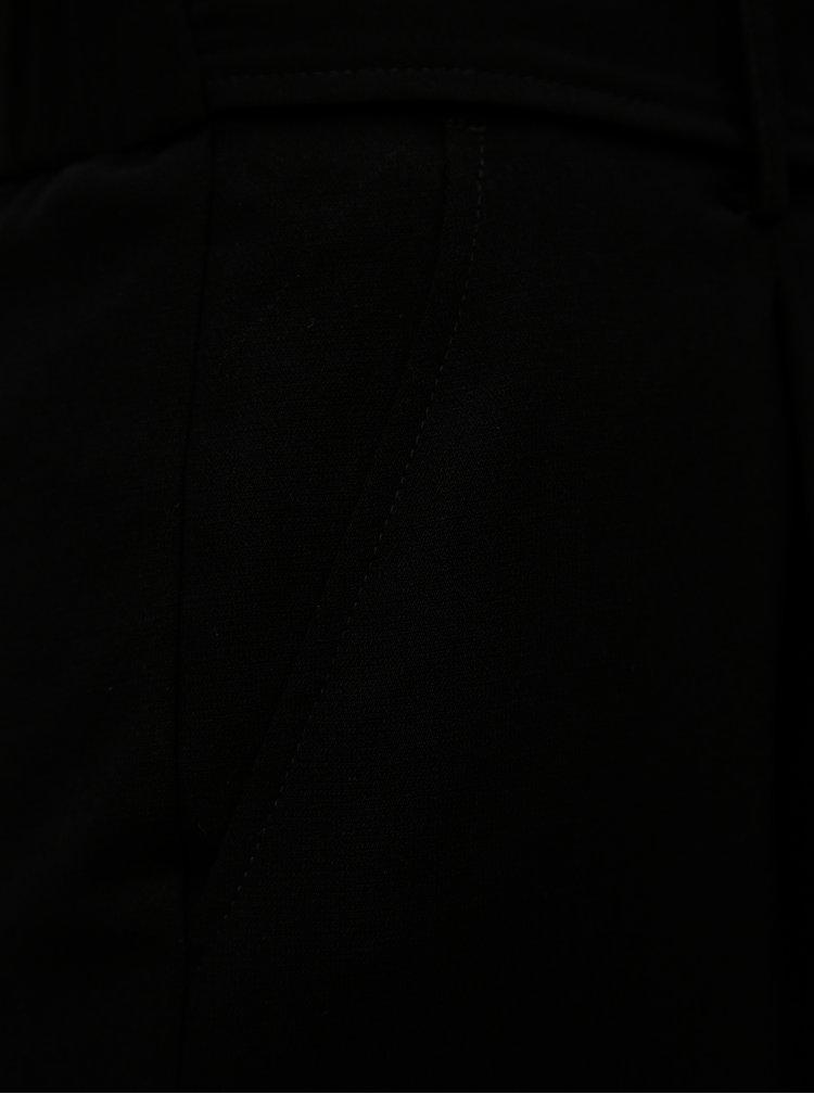 Černé culottes s páskem Dorothy Perkins Tall