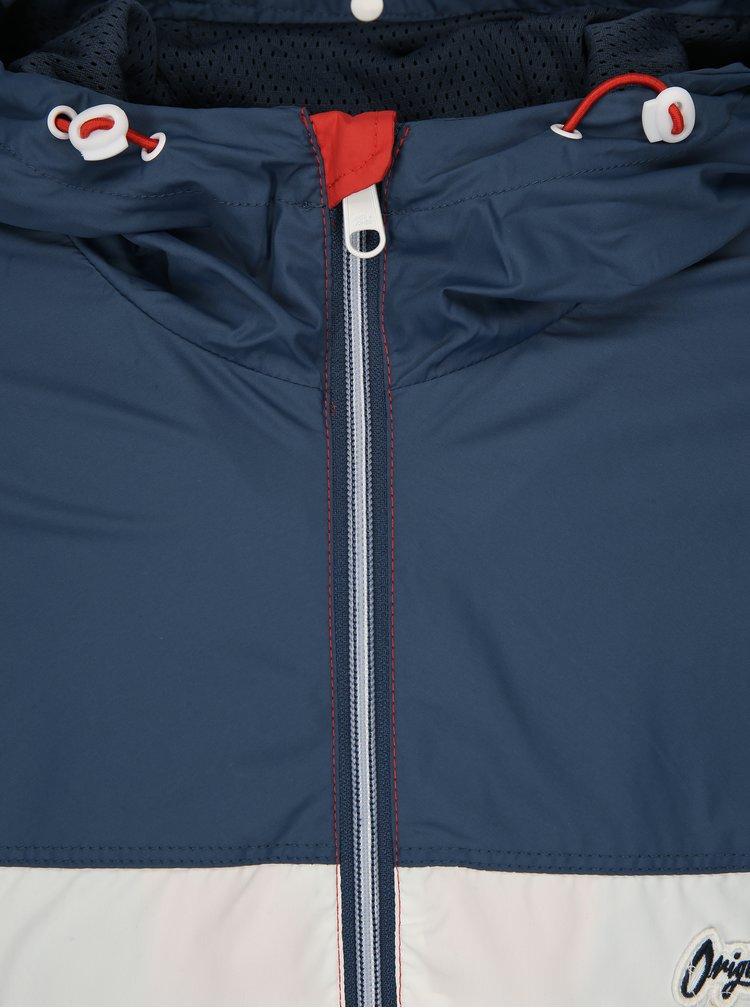 Modro-červená lehká bunda Jack & Jones Self