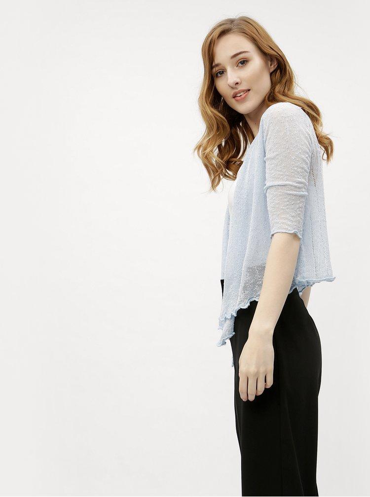 Světle modrý dámský lehký kardigan M&Co