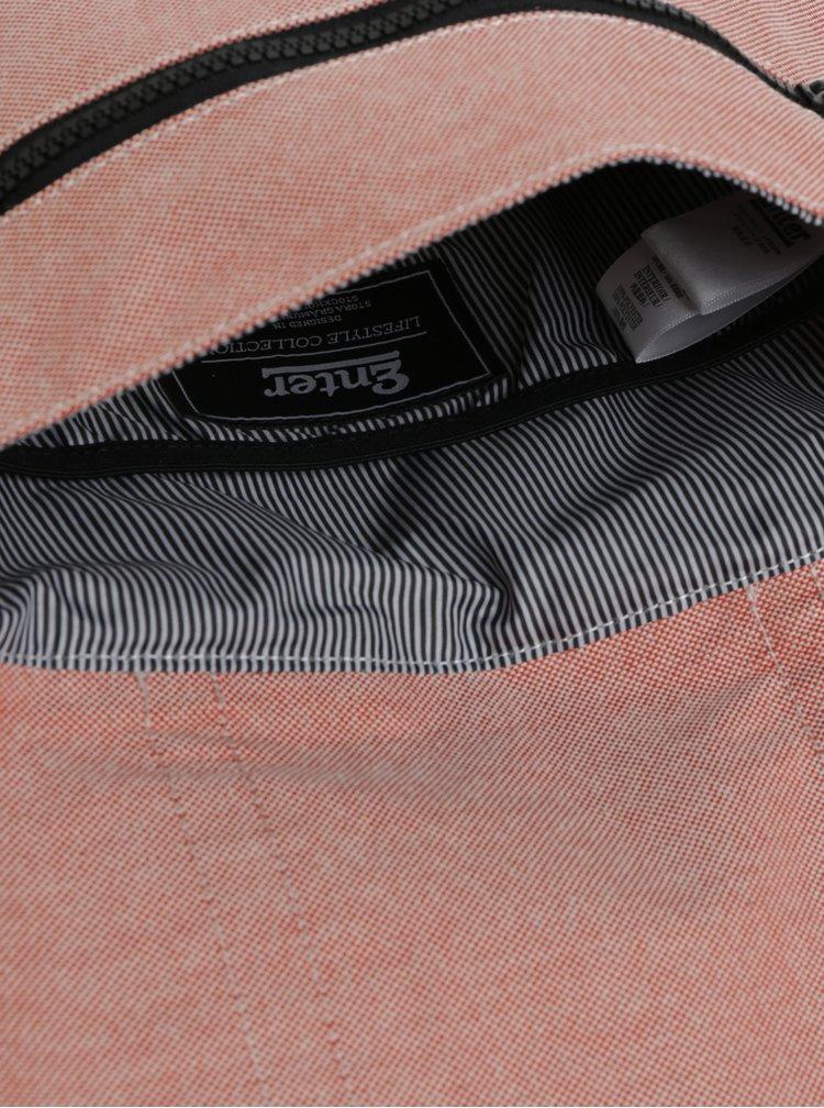 Červený dámsky batoh Enter City Mini 8 l