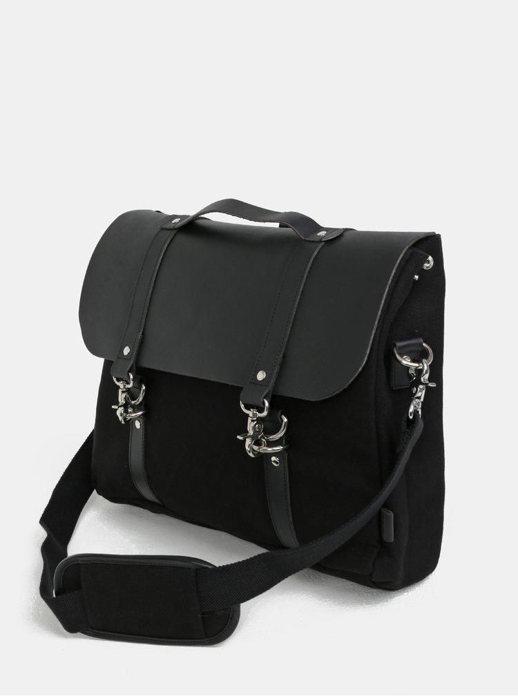 Černý batoh/taška Enter Dog Hook Brief 12 l