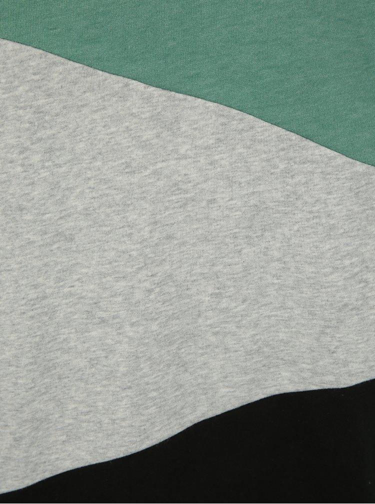 Zeleno-šedá pánská mikina Ragwear Todd