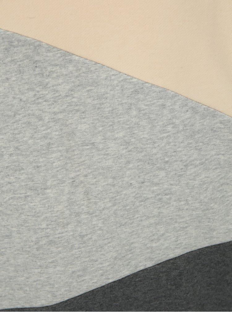 Krémovo-šedá pánská mikina Ragwear Todd