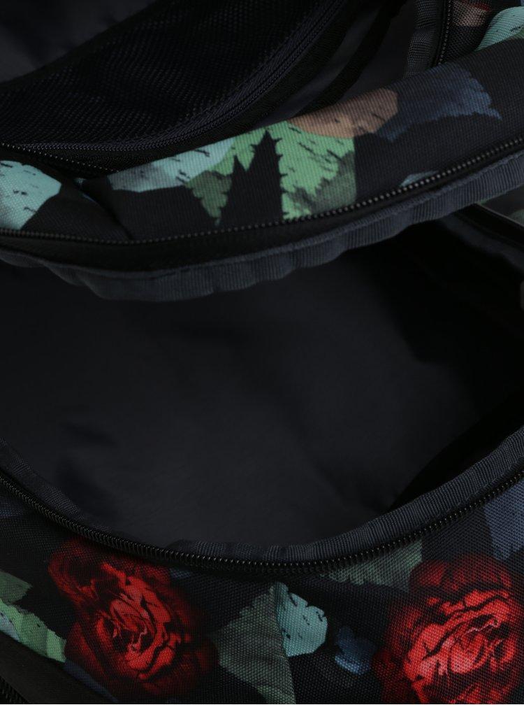"Černý vzorovaný batoh na notebook 15,6"" Case Logic Berkeley 29 l"