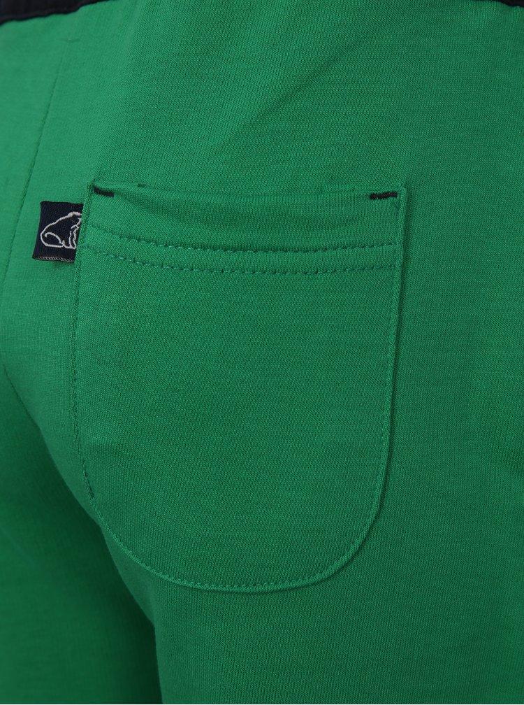 Modro-zelené klučičí kraťasy North Pole Kids