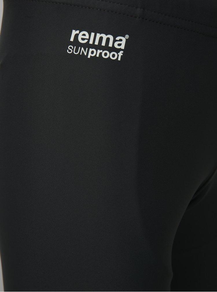 Tmavě šedé klučičí plavky Reima Sicily