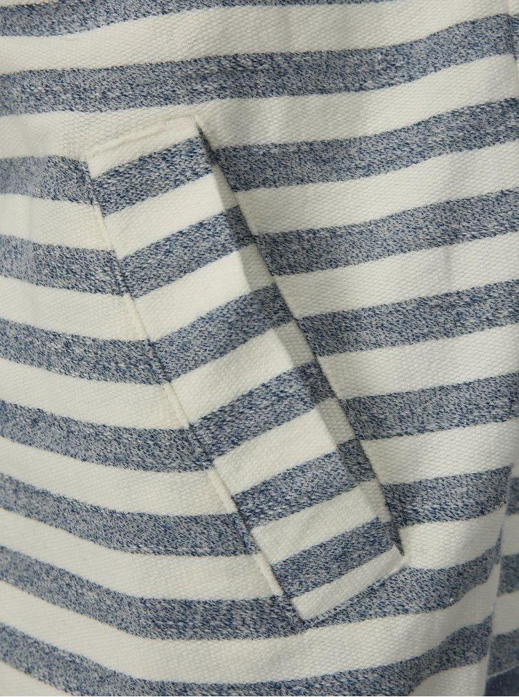 Hanorac barbatesc albastru-alb in dungi Ragwear Marty