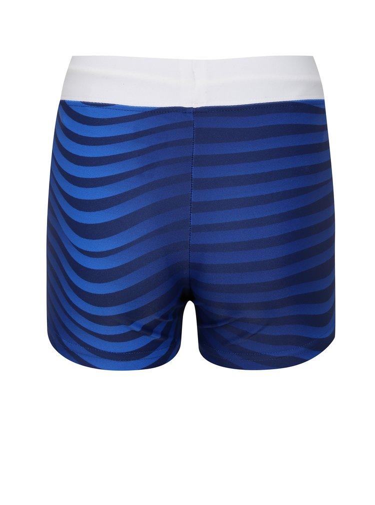 Tmavě modré klučičí vzorované plavky Reima Tonga