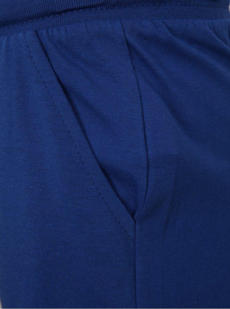 Modré klučičí lehké kraťasy s potiskem Mix´n Match