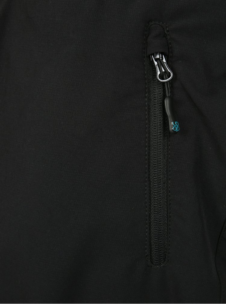 Černé dámské funkční softshellové kalhoty LOAP Urik