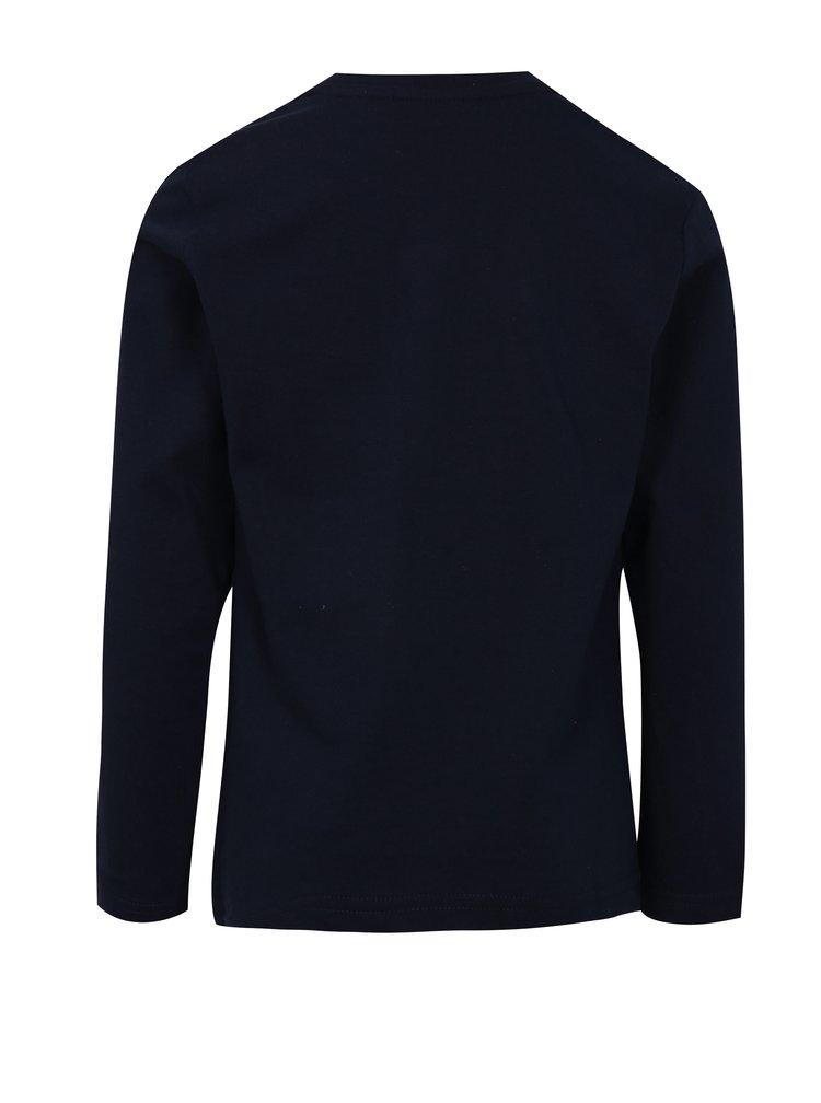 Tmavě modré klučičí tričko s motivem skateboardu Mix´n Match