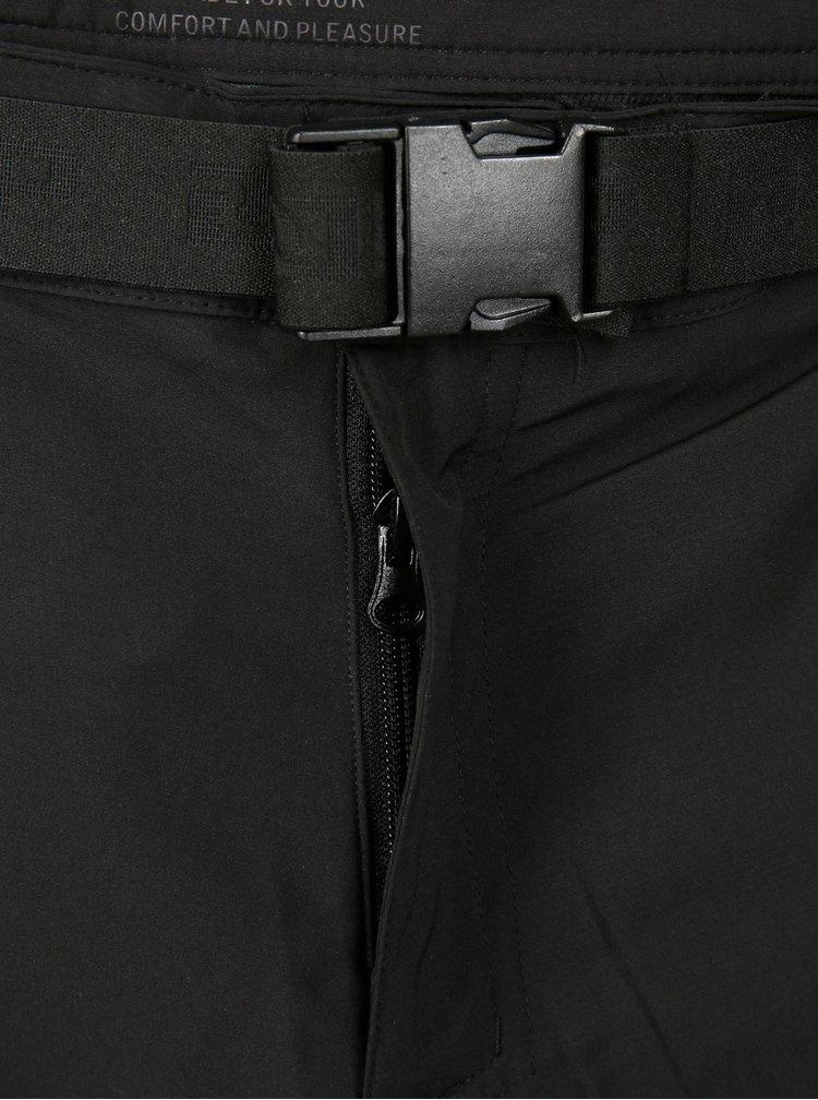 Černé pánské funkční voděodolné kalhoty LOAP Udon
