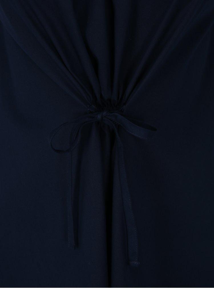 Tmavě modré šaty bez rukávů Noisy May Olivia