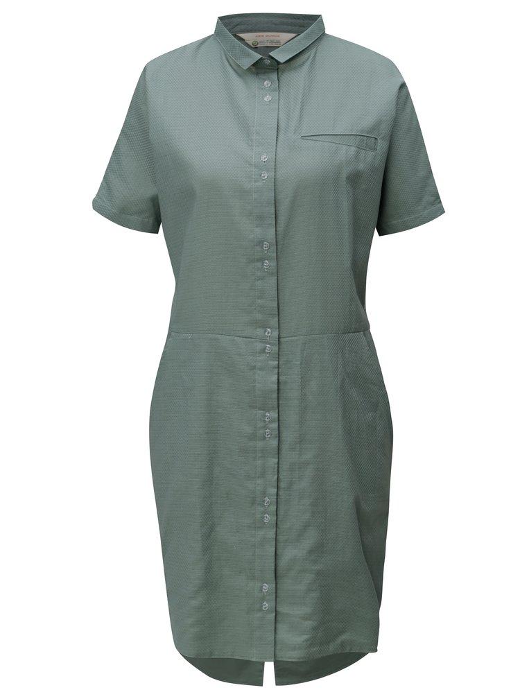 Rochie tunica verde cu model SKFK