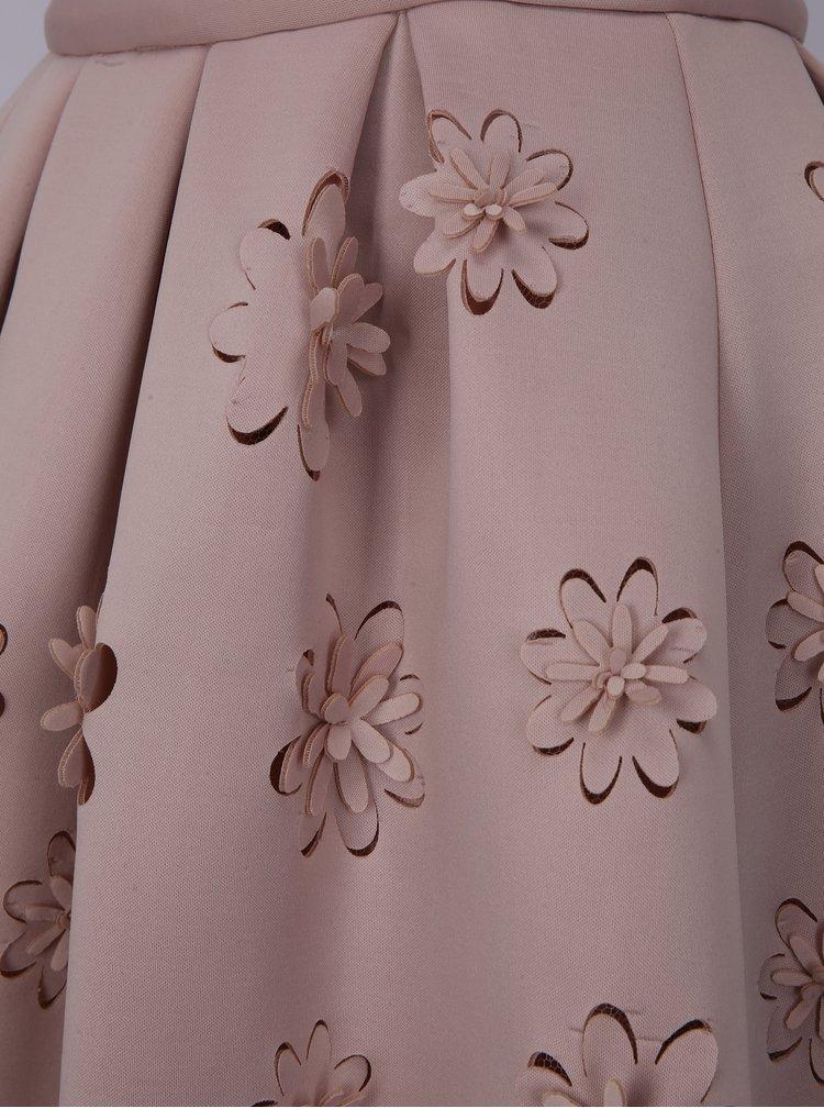 Starorůžová sukně Chi Chi London Jasmina