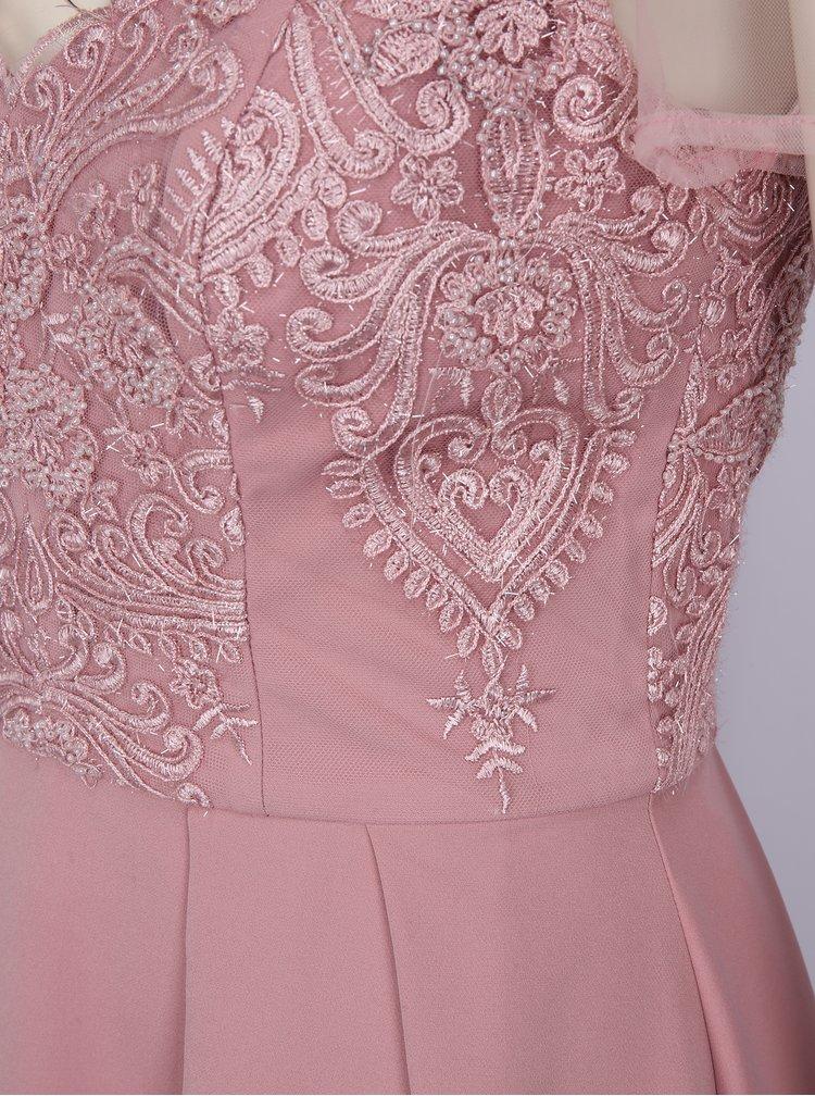 Rochie roz prafuit Chi Chi London Lorrie