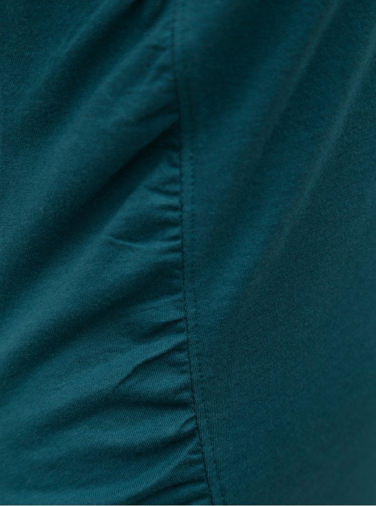 Zelené tričko s volánem Skunkfunk Hamasei