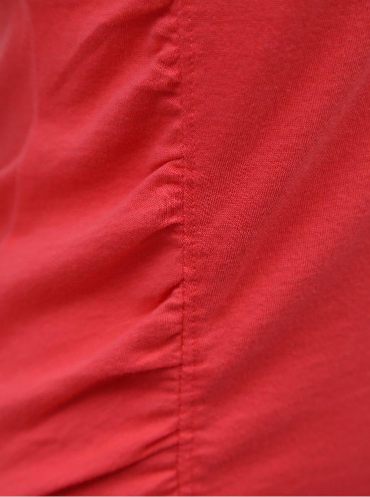 Korálové tričko s volánem SKFK Hamasei