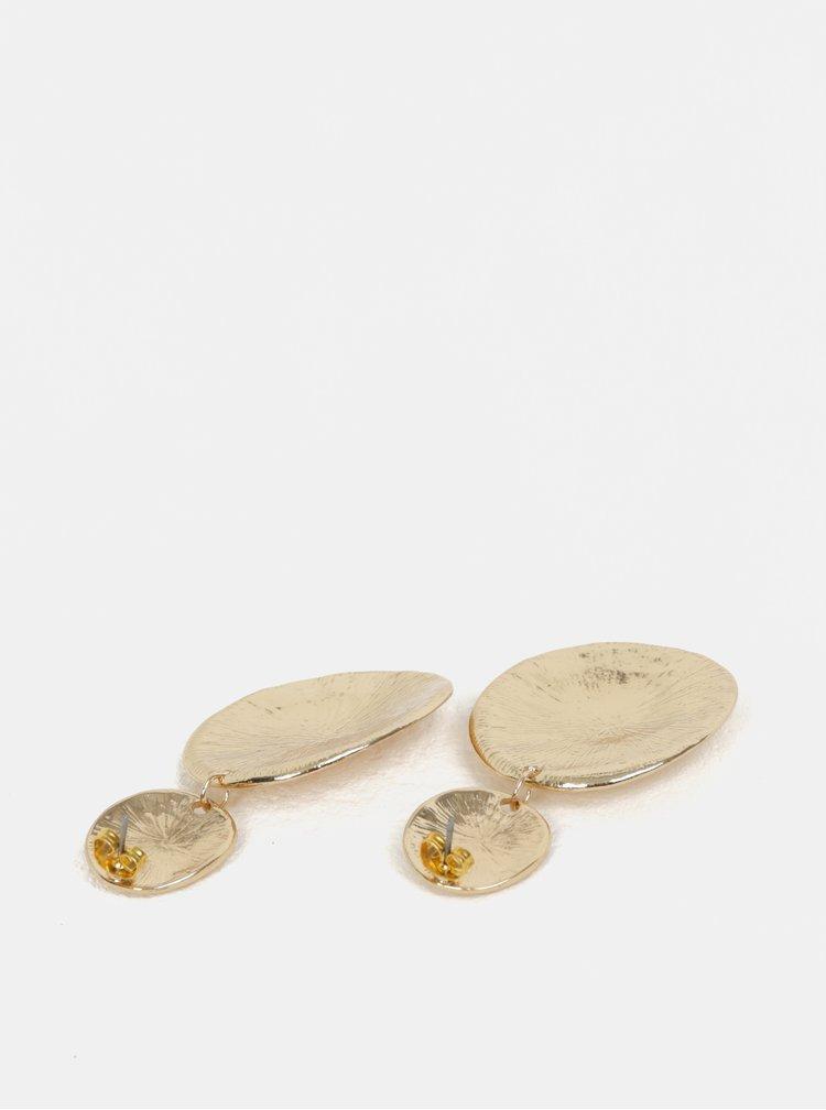Visací náušnice ve zlaté barvě Pieces Magnid