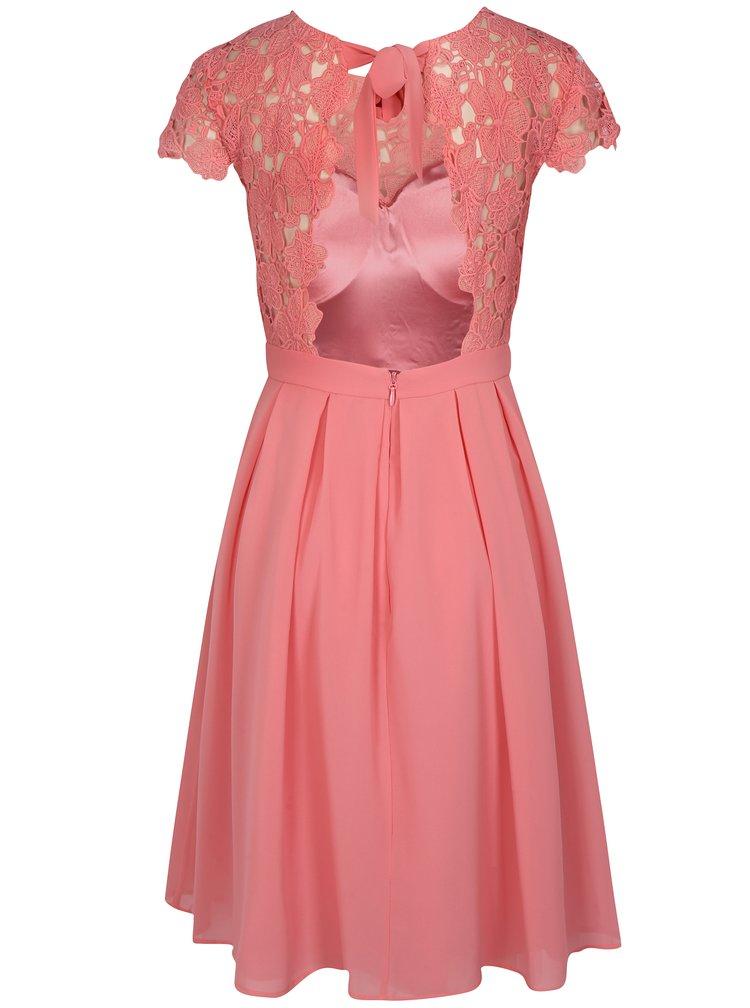 Růžové šaty Chi Chi London Summer