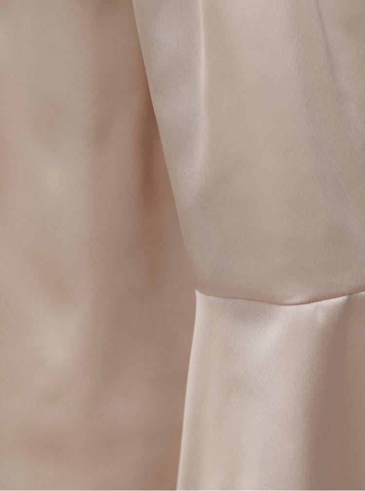 Starorůžová halenka s odhalenými rameny Dorothy Perkins Petite