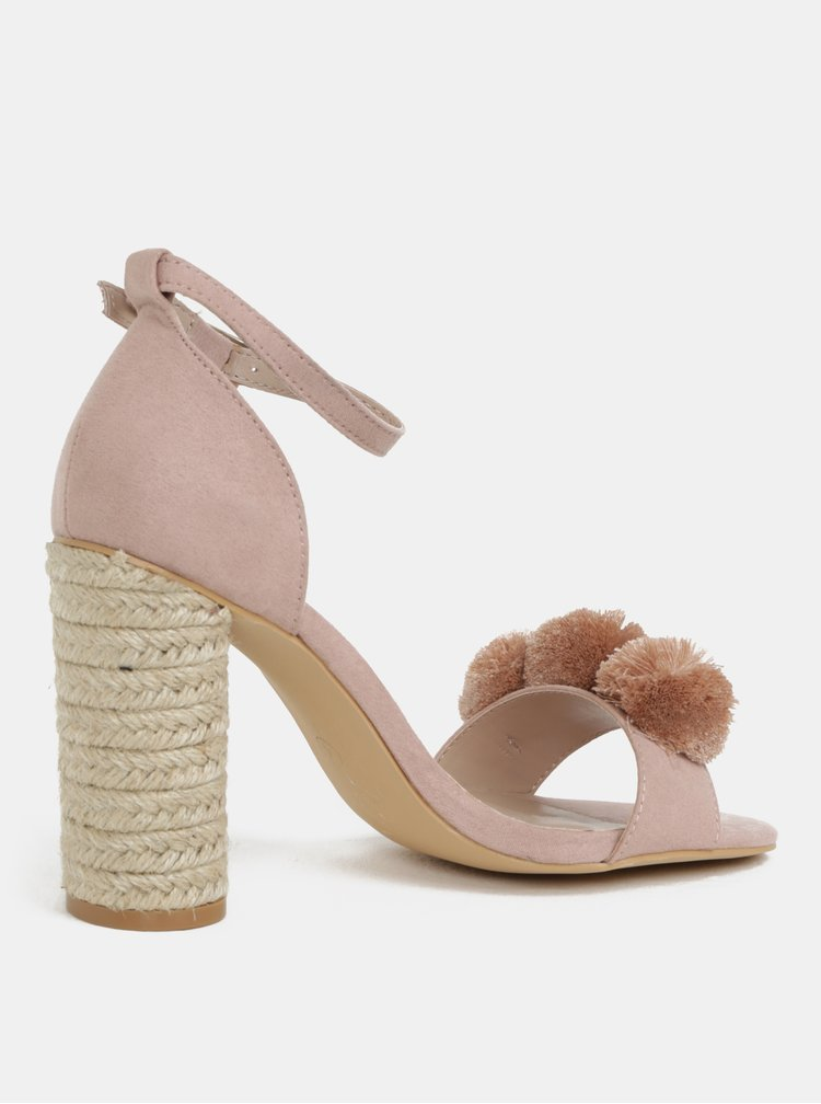 Staroružové sandále na podpätku Dorothy Perkins