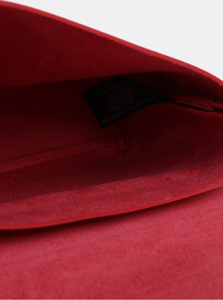 Červená malá crossbody kabelka Dorothy Perkins