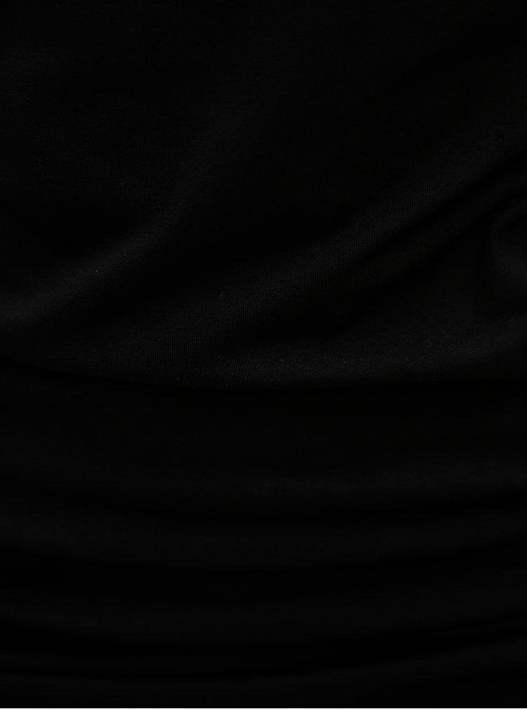 Top negru fara bretele Dorothy Perkins