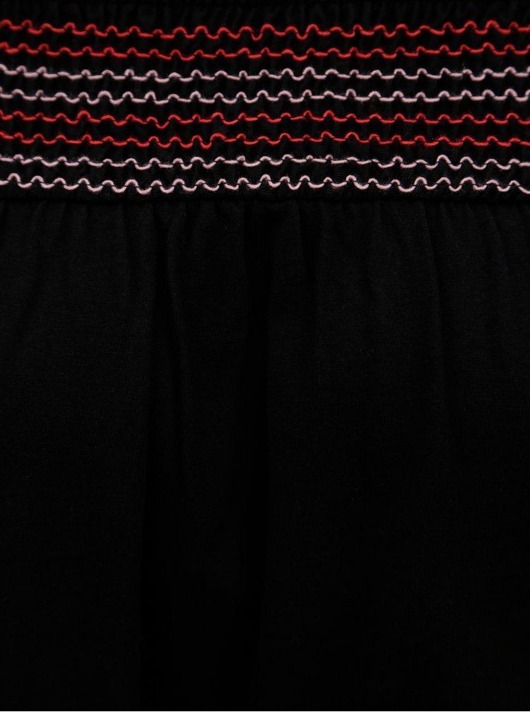 Černá halenka s odhalenými rameny Dorothy Perkins