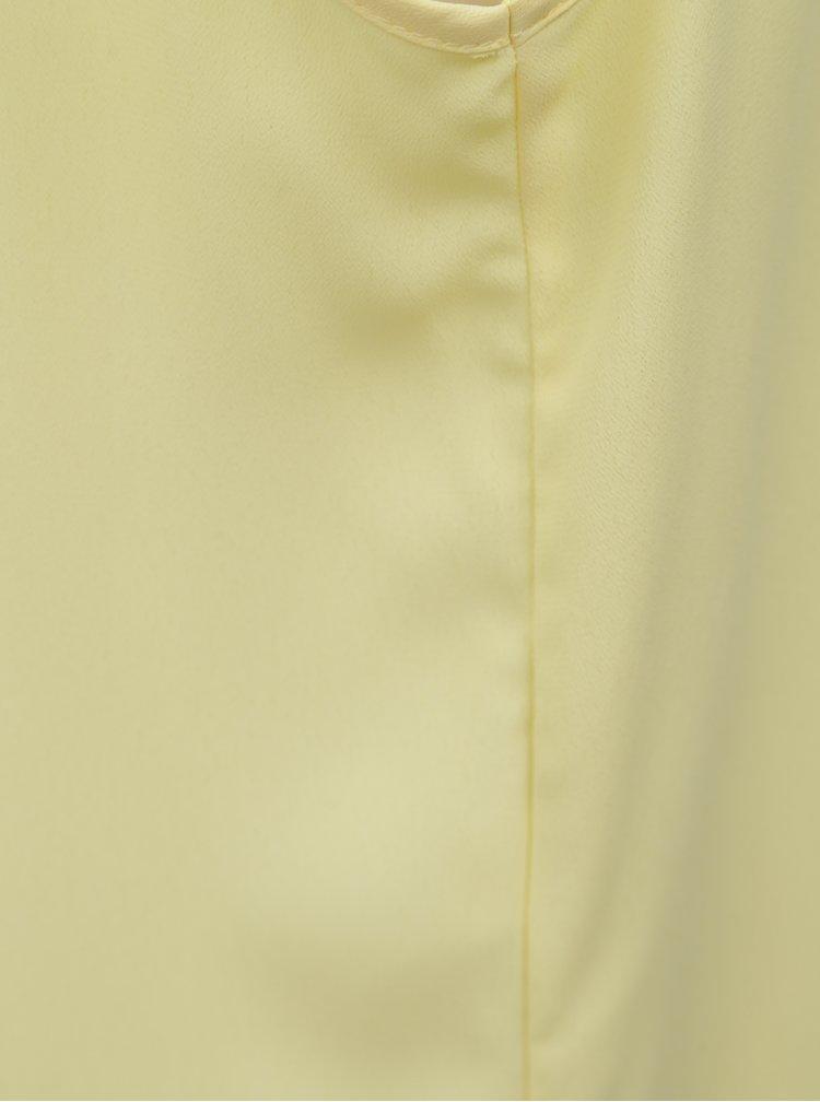 Žlutá halenka Dorothy Perkins Petite